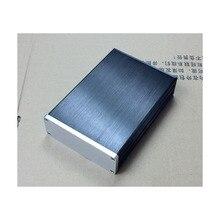Kaolanhon DIY коробка 115*40*168 мм BZ1104 алюминиевый корпус усилителя DAC Корпус Шасси
