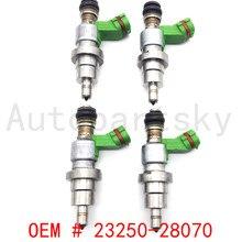 [4 шт.] 23250-28070 23209-28070 OEM высококачественный топливный инжектор для Toyota 1AZ-FSE 2.0L RAV4 Avensis Топливная форсунка 23290-28070
