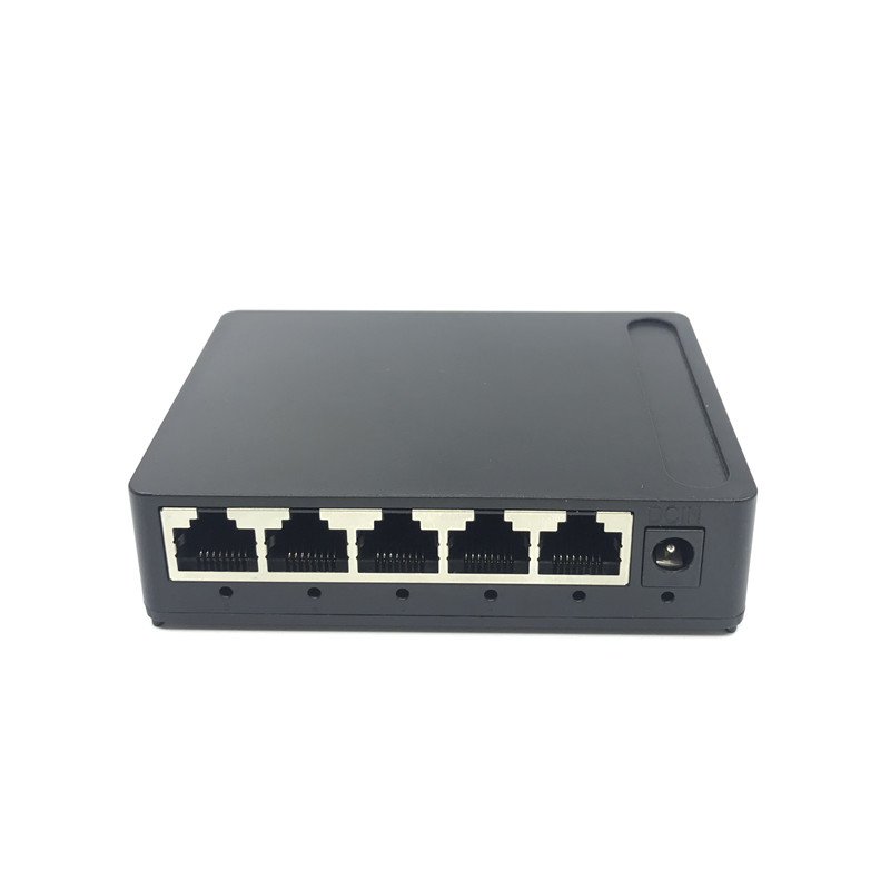 OEM Factory Outlet  Brand 5 Port Gigabit Ethernet Switch Cheapest Network Switches 10/100/1000mbps US EU Plug Switch Lan Combo