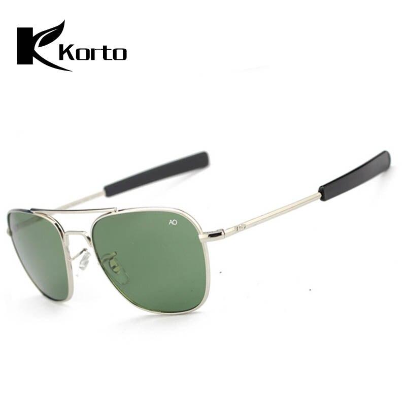 Men AO Sunglasses Aviation Pilot Sunglasses Fashion Zonnebril Mannen Douglas Macarthur Sun Glasses Outdoor Luxury Man Eyeglasses