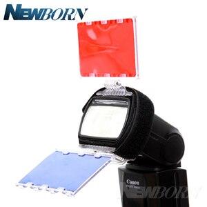 Image 4 - FALCON Mắt CFA 30K Bộ Đèn Flash 30 Màu Gel với Bộ Barndoor & Phản Quang & Túi dành cho Máy Ảnh Canon Nikon YONGNUO ĐÈN Flash GODOX