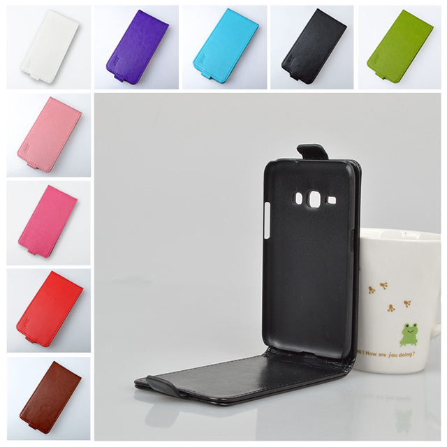 J1 6 Case PU Leather Flip Cover For Samsung Galaxy J1 2016 J120 J120F J1(6) SM-J120F / DS J2/J3/J5/J7 2015 Phone Bags & Cases