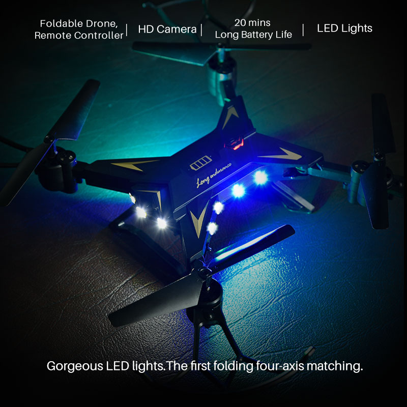 XKY K601S Upgraded Big Battery RC Foldable Selfi Drone Quadcopter Helicopter VS xs809hw 4