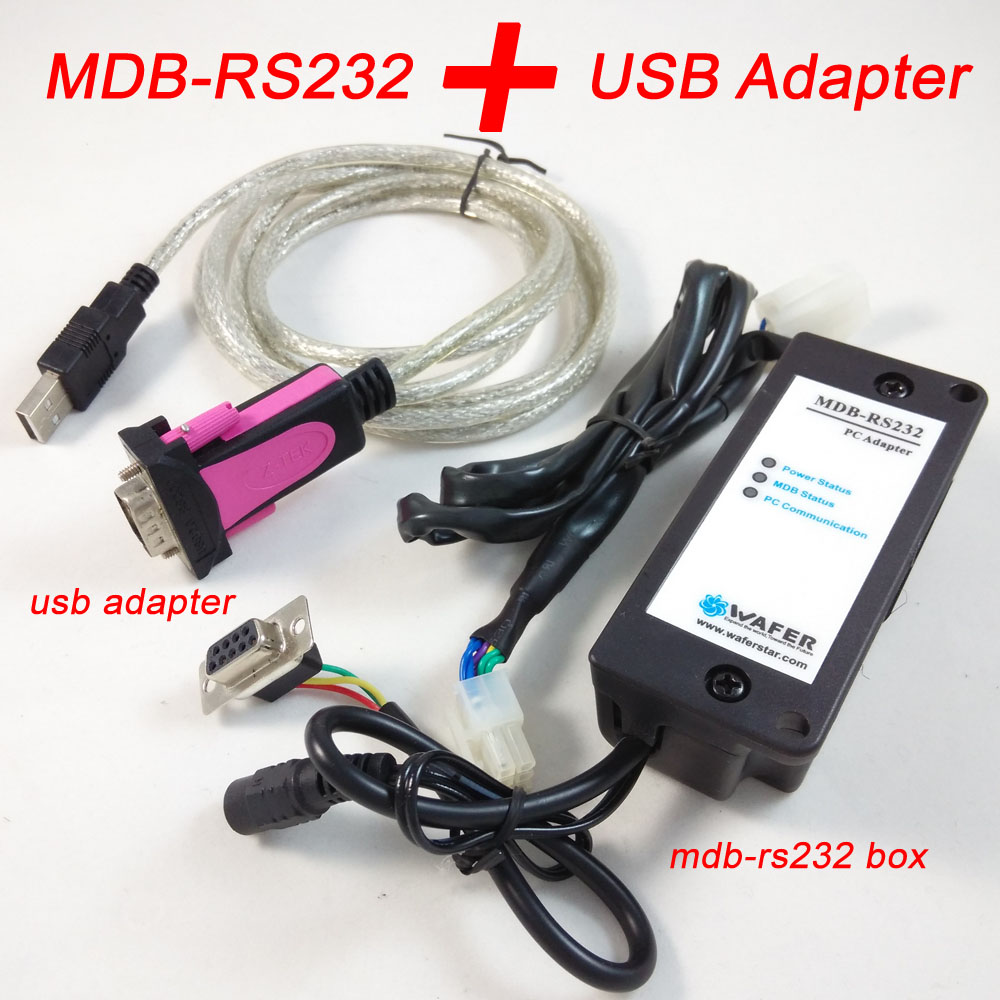 MDB-RS232 device to convert the MDB coin validator data to PC RS232 for kiosk computer android board PLC