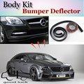 Bumper Lip Para Mercedes Benz CLS W219 W218 C218 C219/Top Loja de artes Spoiler Para Carro Tuning/TOPGEAR Recomendar Body Kit + tira