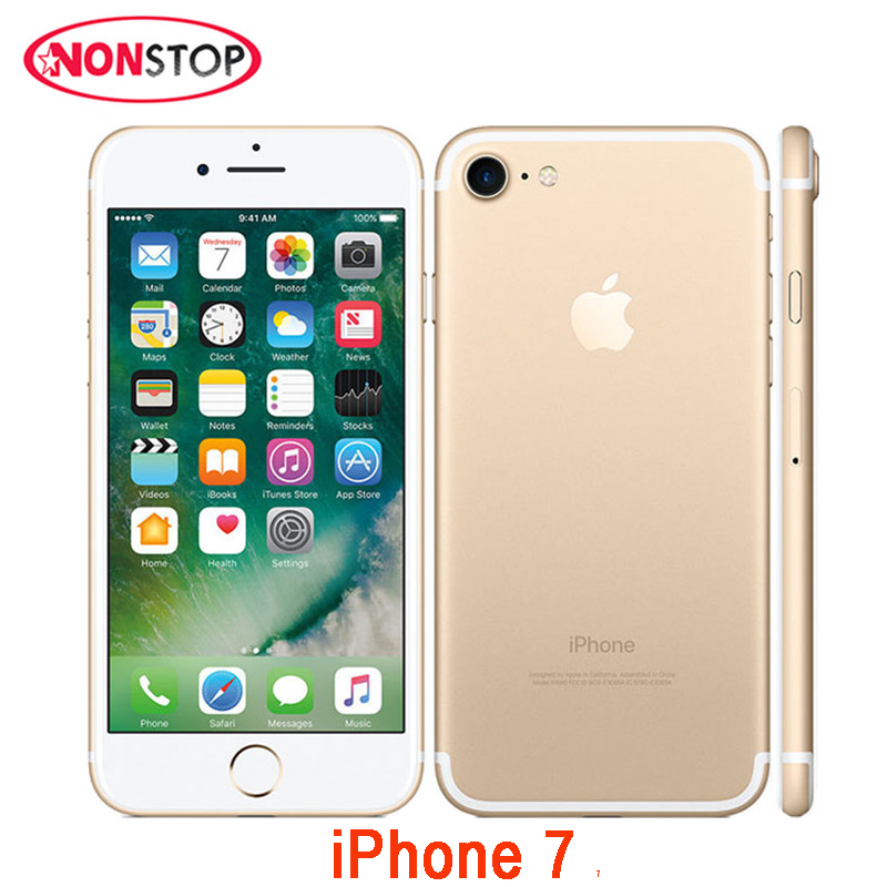 Unlocked Apple iPhone 7 Quad-core Mobile Phone 12.0MP Camera 32G/128G/256G Rom IOS