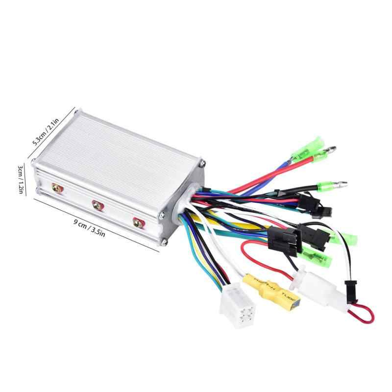 36V/48V 350W Brushless Electric Bicycle Controller with LCD Panel for E-bike Electric Bike Scooter Accessories