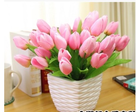 Fashion tulip simulation 9color set decoration For the living room ...
