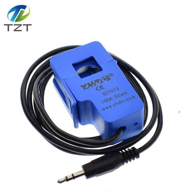 1 pièces SCT-013-000 de capteur de courant alternatif 100A noyau fendu Non invasif