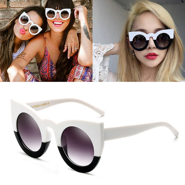a6362d534512 JackJad New Fashion Women Cat Eye Style Gradient Sunglasses Eyewear Vintage  Brand Design UV400 Sun Glasses Oculos De Sol 97180