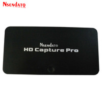 HD Video Game Capture Pro 1080P Recorder USB 2.0 Playback Capture Cards with Remote Control H.264 For Xbox 360 PS4 Set Top Box