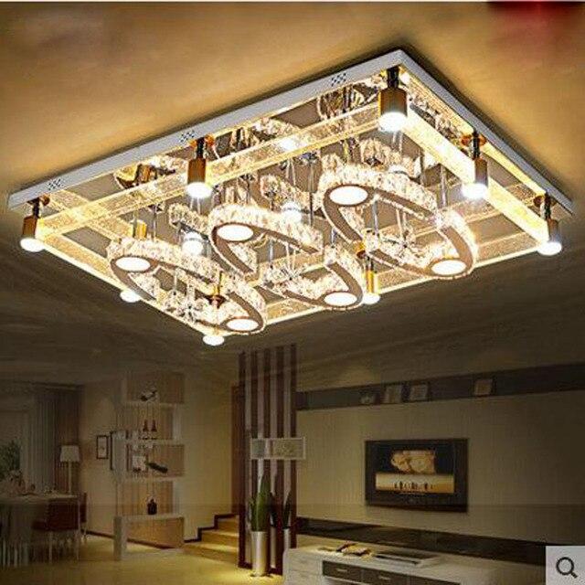 Led Blase kristall lampe moderne wohnzimmer deckenleuchten ...