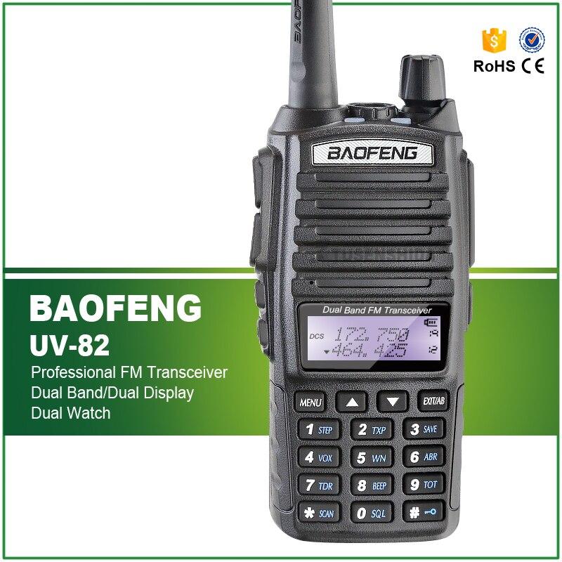 Brand New 100 Factory Authorized Brand New BAOFENG UV 82 Dual Band UHF VHF136 174 400