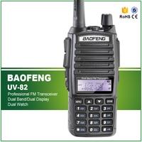 BAOFENG UV 82 Dual Band UHF VHF137 174 400 520MHz 2 Way Radio Double PTT Headset