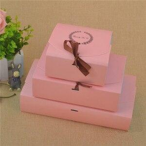 Image 2 - 30 шт., специально для U бумаги, коробка для шоколадных тортов, женская коробка для печенья, Детская коробка для рукоделия
