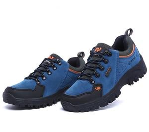 Image 3 - 2019 Outdoor  Men Shoes Comfortable Casual Shoes Men Fashion Breathable Flats For Men Trainers zapatillas zapatos hombre