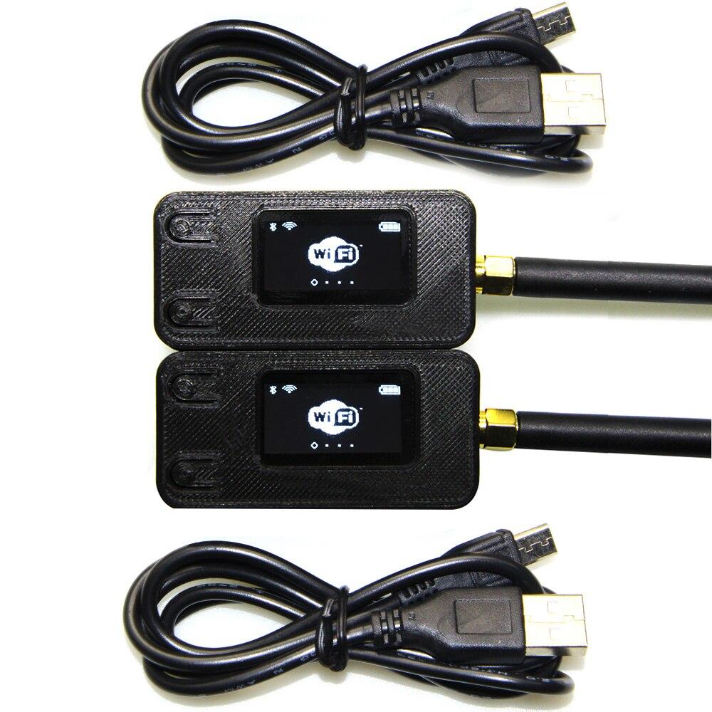 2 pcs TTGO 433/470/868/915 mhz SX1278 SX1276 ESP32 LoRa 0.96 pouce Bleu OLED Affichage bluetooth WIFI Module IOT Conseil de Développement
