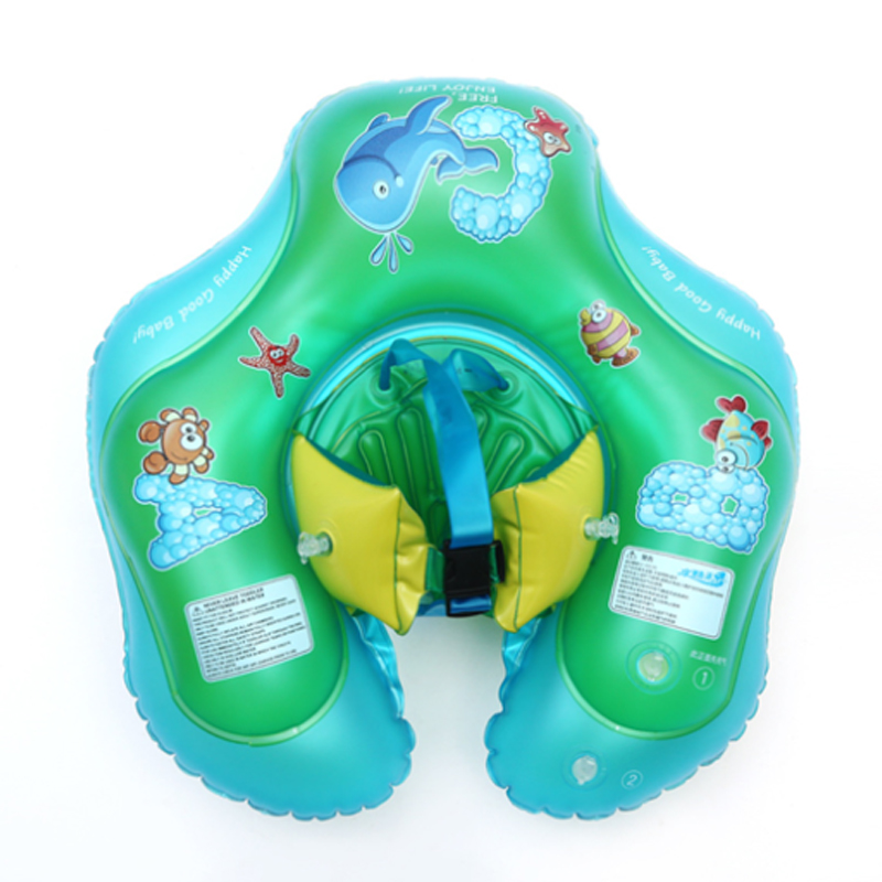 Inflatable Circle Floating Floats Swimming Accessories Bathtub Pools Swim Trainer Safe To Prevent Rollover Baby Swimming Ring