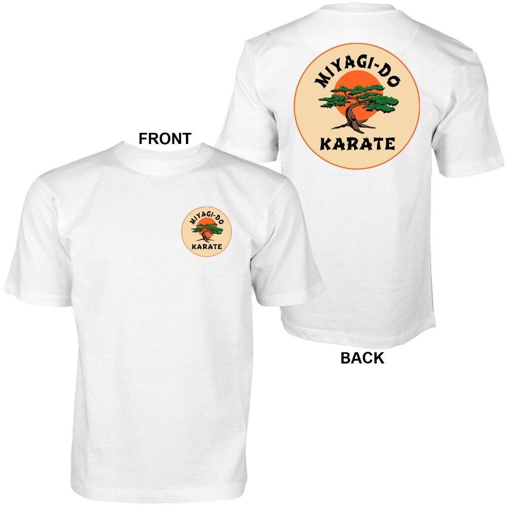 Miyagi do karate-o karate miúdo-cobra kai retro gráfico camiseta estilo 2