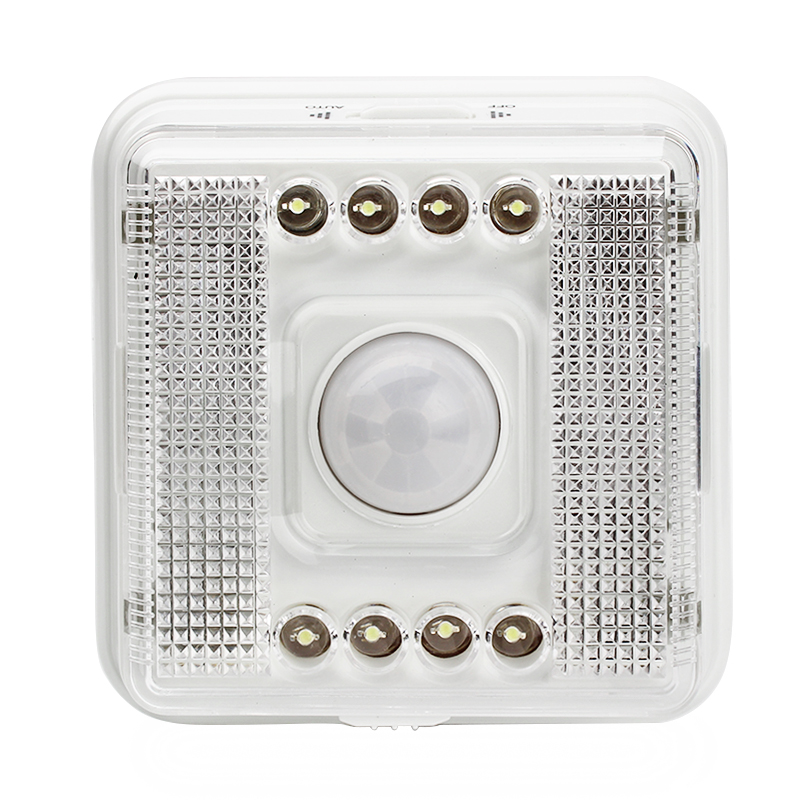 Motion sensor light 8 LED Light Lamp PIR Auto Sensor Motion Detector LED lighting
