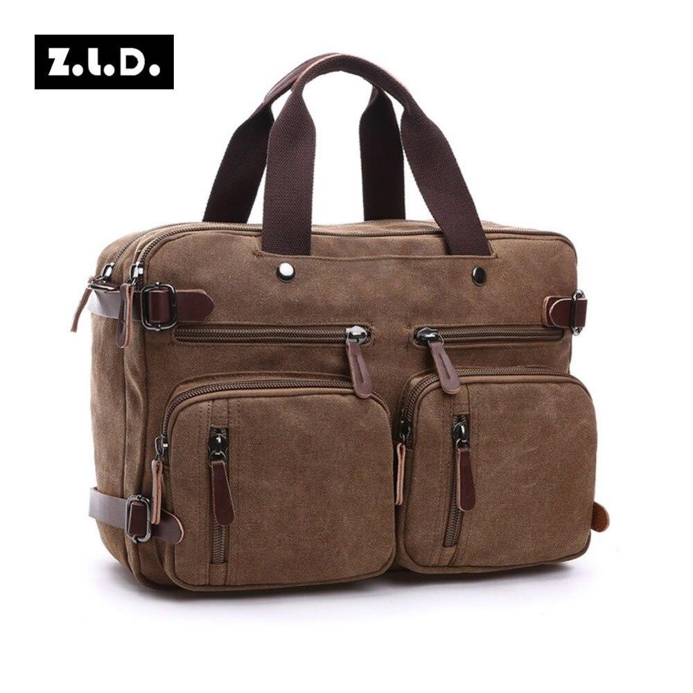 original z.l.d homens viajam bolsa Abacamento / Decoração : Nenhum