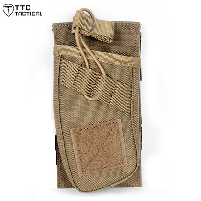 AR/AK Single Open-Top Mag Pouch Military Rifle Magazine Pouch Fast MOLLE M4 Utility Ammo Pouch For Airsoft Paintball