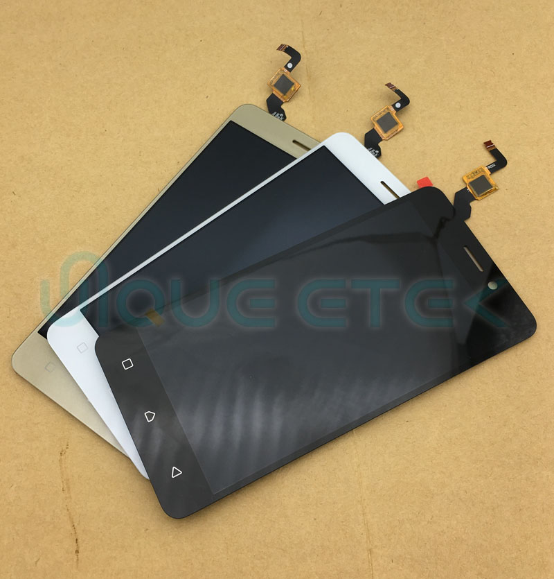 New For Lenovo K6 Note LCD Display Digitizer Touch Panel Screen Assembly Mobile Phone Replacement Parts