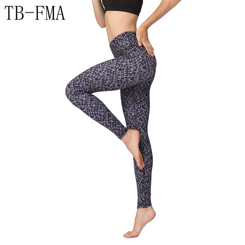 Floral Print pants women Yoga Pants Women High Waist Fitness Running Tights Push Hips Compression Sportswear Skinny leggings