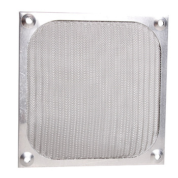 1Pc Fan Aluminum Dustproof Cover Dust Filter for PC Cooling Chassis Fan Grill Guard 120mm image