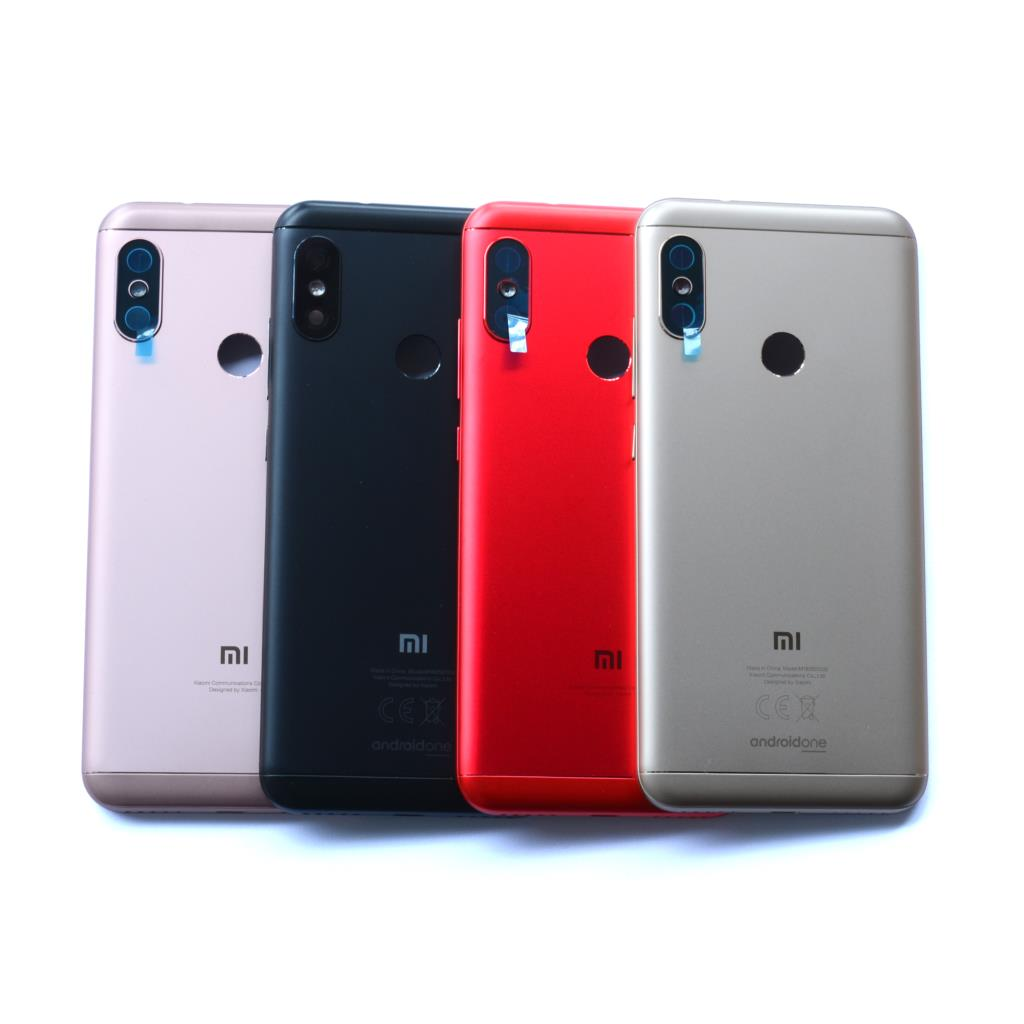 Original For <font><b>Xiaomi</b></font> <font><b>A2</b></font> Lite <font><b>Mi</b></font> <font><b>A2</b></font> Lite <font><b>Battery</b></font> Back <font><b>Cover</b></font> Housing + Camera Glass Lens+ Side Keys Replacement Parts image