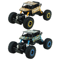ZINGO RACING 9123 1:18 15KM/H RC Car Rock Crawler 4WD High Speed Cross Country Vehicle Children Toys Gift (Build in USB Battery)