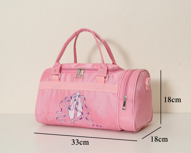 493fa2548489 Detail Feedback Questions about Children dance package girls dance backpack  baby barrels package ballet Korean version of the dance package cosmetic bag  ...
