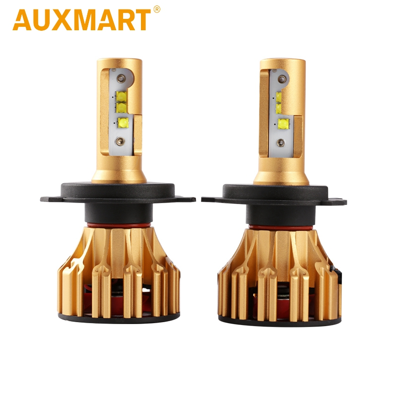 Auxmart 70W 7000LM LED Headlight Bulb For Renault Twingo 95-98 H4 Hi Lo Beam Led SMD Chips Car Headlight Bulbs 6500K Car light