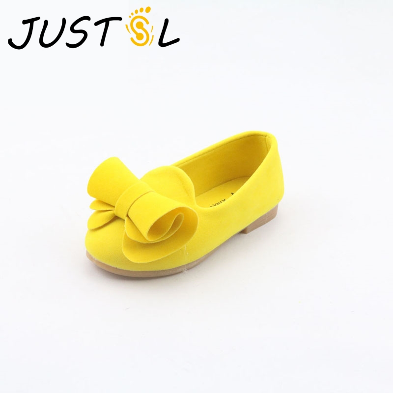 JUSTSL 2018 autumn new childrens casual shoes velvet bow princess girls single shoes soft comfortable shoes for kids size 21-36JUSTSL 2018 autumn new childrens casual shoes velvet bow princess girls single shoes soft comfortable shoes for kids size 21-36