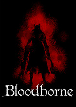 Bloodborne Art Silk Fabric Poster Print  Game Hunter Picture for Living Room Wall Decoration Stickers 50X70Cm