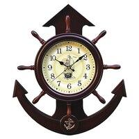 Винтажные настенные часы Sailboat, современный дизайн, бесшумные 3D часы, механизм для домашнего декора, Большие зеркальные часы, 3DBGV68
