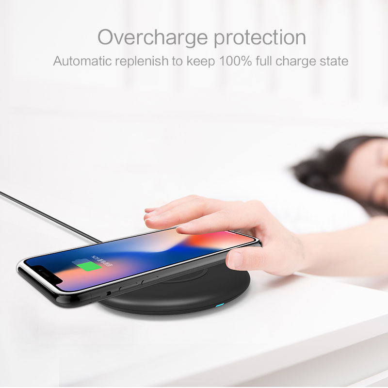 IPX5 Waterproof 10W Wireless Charger Pad for Doogee S68 Pro
