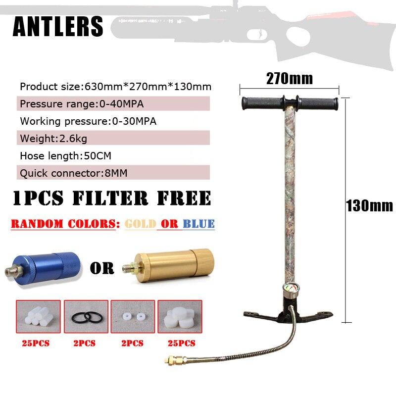 4500PSI PCP szivattyú 3 fokozat Airgun PCP szivattyú levegő puska - Lövés - Fénykép 3