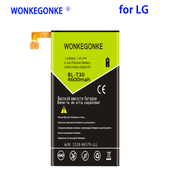 WONKEGONKE 4600mah BL-T30 Battery for LG X Power 2 II L64VL M320F M320N M322 L63BL K10 Power M320 M320DSN M320TV MLV7N image