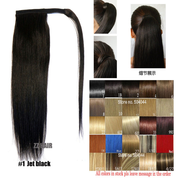 Aliexpress Buy 16 28 100 Brazilian Remy Hair Magic Velcro