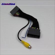 Liandlee для Honda для CRV для CR-V 2012 ~ 2016 адаптер провода заднего вида Камера автомобилей соединительный кабель Оригинальное видео вход переключатель rca