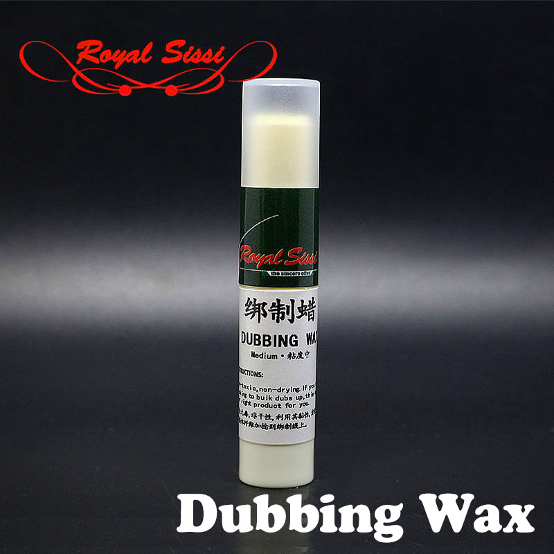 New 2pcs Fly Tying Dubbing Wax Medium Tack Premium Non-drying Sticky Wax With Lipstick Tube Fly Tying Chemicals To Bulk Dubs Up