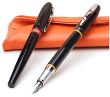 Picasso 907 Montmartre Black M Nib Fountain Pen/Roller Ball Pens Red Ring(China)