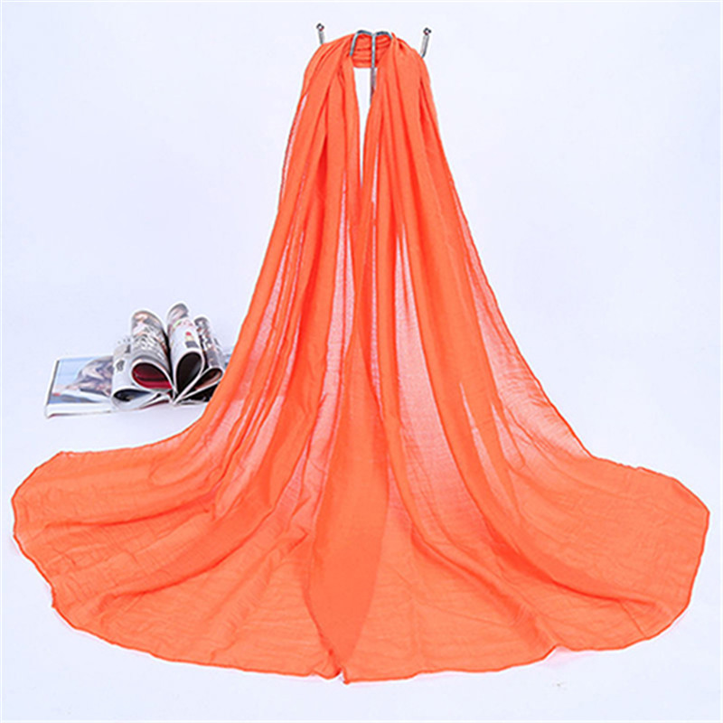 New Lady Women Long Candy Color Soft   Scarf     Wrap   Shawl Stole Accessory Xmas Gift for Girls Female Ladies