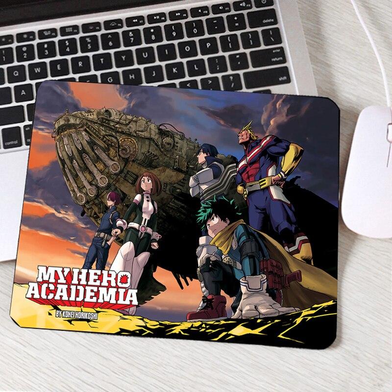 Mairuige The Japan Hot Popular Comic My Hero Academia Anime Boku No Hero Pattern Printed Game Mosuepad Gaming Mouse Pads