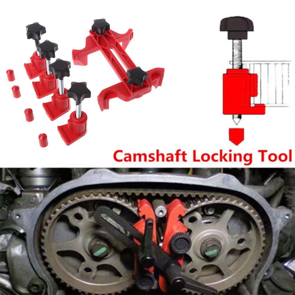 5Pcs Universal Camshaft Lock Holder Car Engine Cam Timing Locking Tools Set Cam Lock Tool