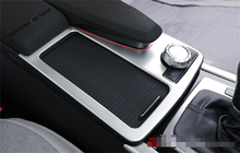 Accessories For Mercedes Benz E class W212 / Coupe 2010 2011 2012 Stainless Steel Water Cup Holder Panel Decoration Trim