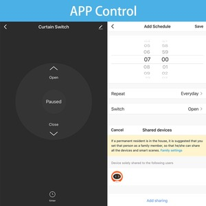 Image 4 - Tuya Smart Life interruttore per tende WiFi per tapparelle motorizzate elettriche, Google Home, Amazon Alexa Voice Control