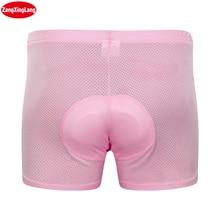 Zangxinglang Mens and Womens 5D Padded Cycling Underwear Bike Bicycle MTB Shorts Free Shipping