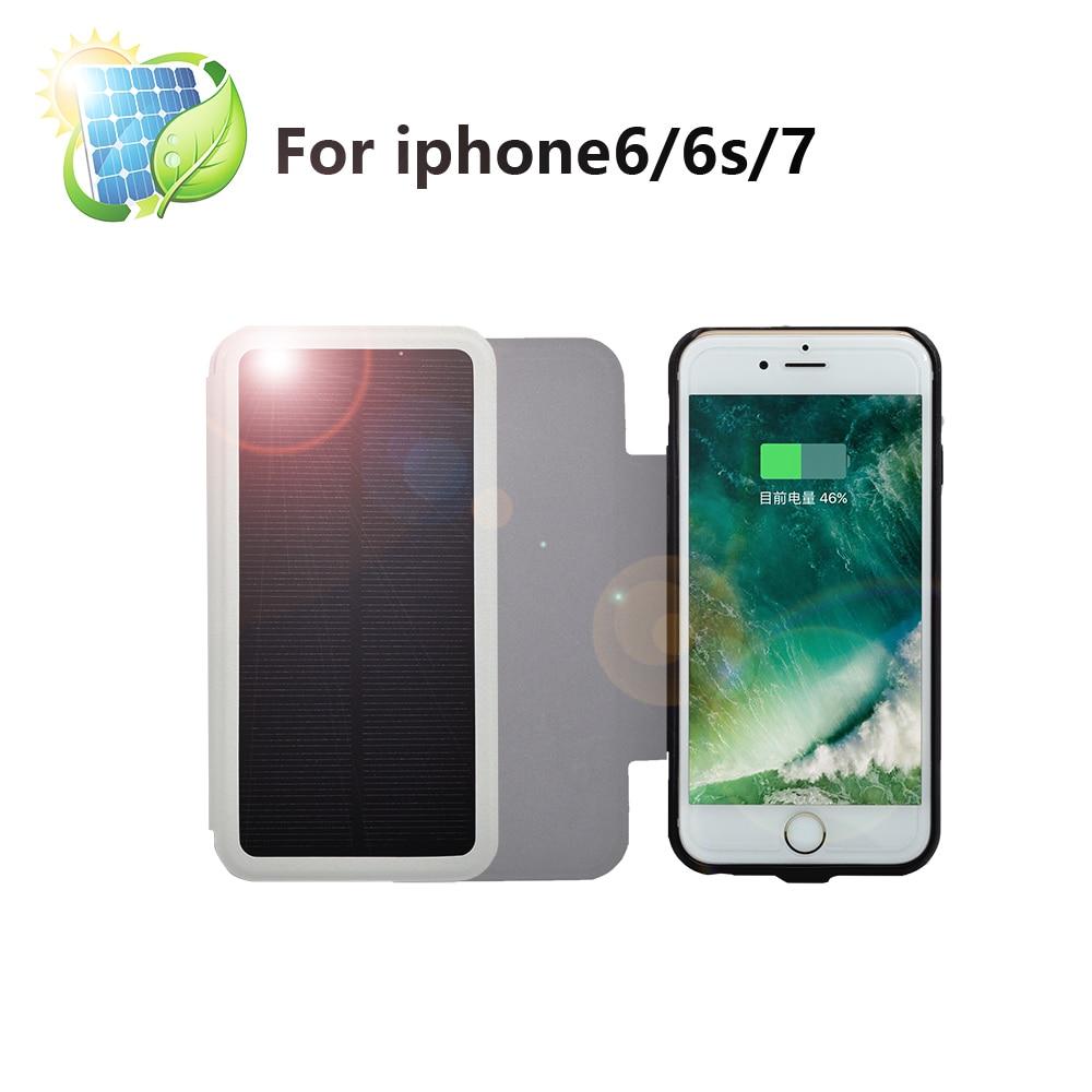 bilder für Eyoube für iphone6/6 s Plus 4200 mah Solar Akku aufladen Telefon Fall Energienbank Ladegerät Fall Tragbare große Kapazität